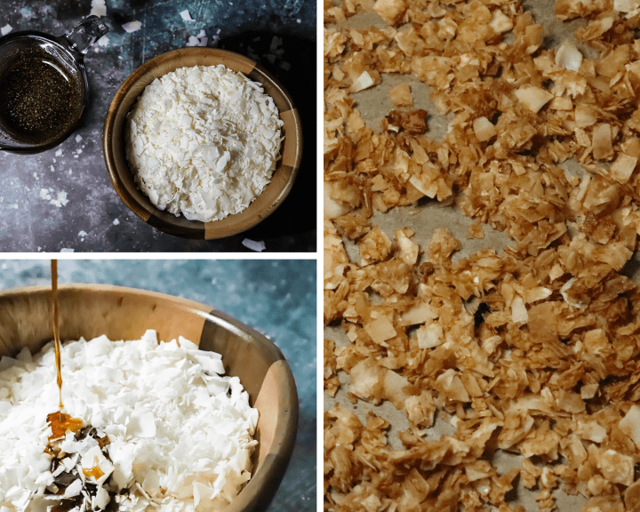 how to make vegan coconut bacon with bob's red mill shredded coconut
