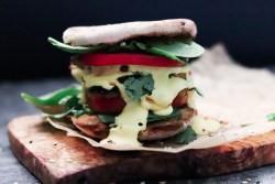 easy vegan breakfast sandwich