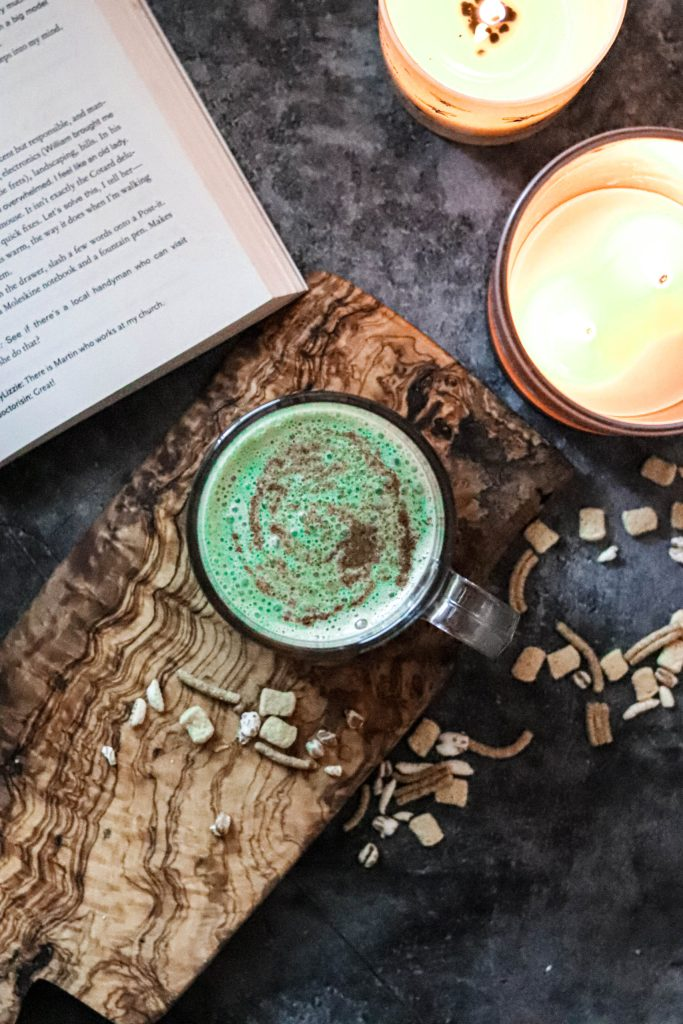 How to make a matcha latte without a bamboo brush