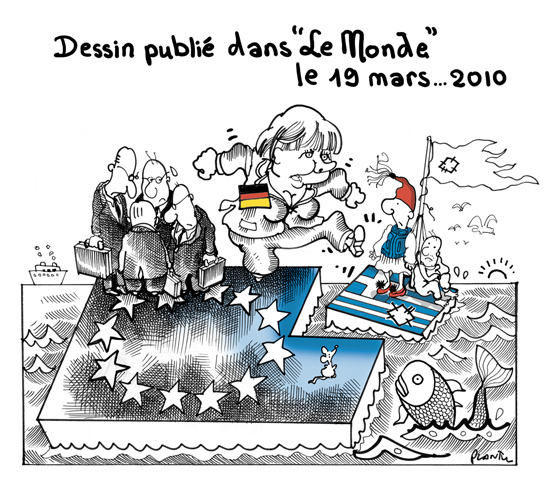 Merkel, Grecia e a Zona Euro