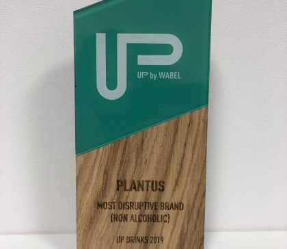 PLANTUS Most Disruptive Brand UP Drinks 2019