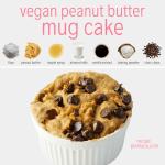 Vegan Peanut Butter Mug Cake Five Minutes Plant You