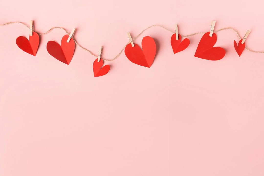 Different Heart Shape Banners