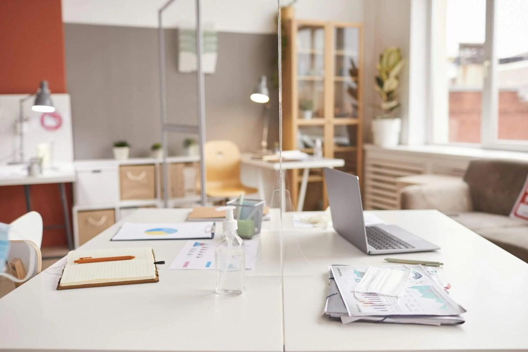 Include little furniture in your office cubicle decor