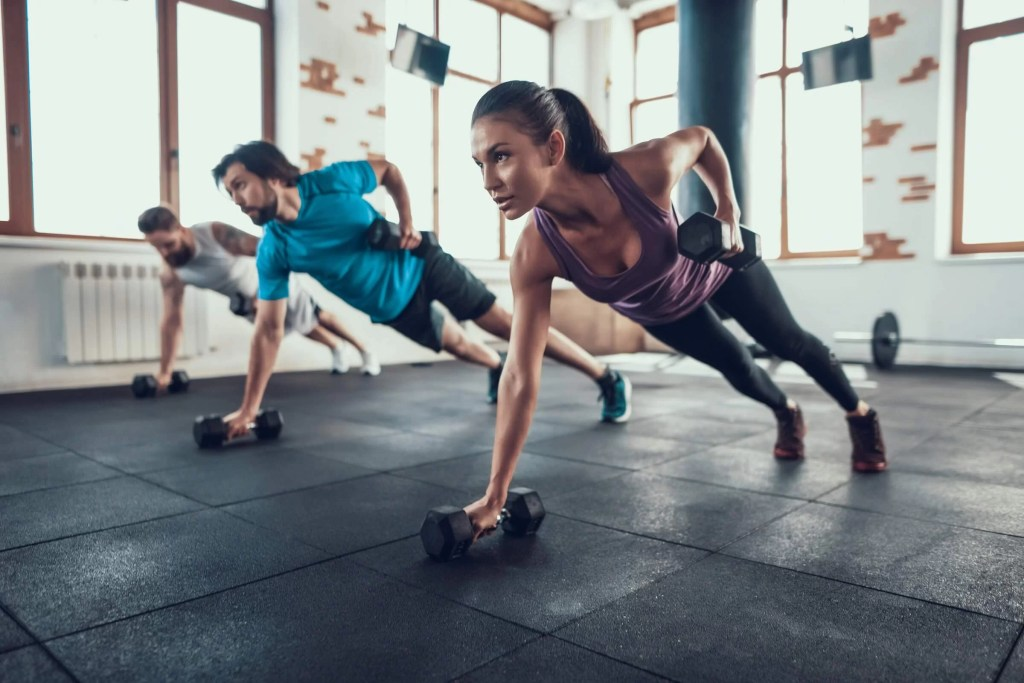Dumbbell Bear Crawl Is One Of The Best Metabolic Exercises