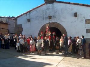 Inicio de una procesión de San Sebastián/Alfonso Beltrán
