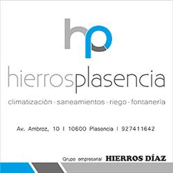 cartel de Hierros Plasencia