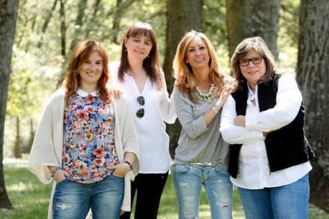 Ainhoa, Merche, Pilar y Marian