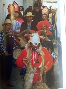 El Carnaval Jurdanu recorre las calles del antiguo pueblo de Las Calabazas (Foto: F.B.G.)