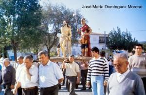 Procesión del Cristo atado a la columna (Foto: JOSÉ MARÍA DOMÍNGUEZ MORENO)