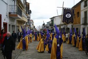 """""""Procesión de los cucuruchos, en Zarza de Granadilla, el día de Viernes Santo"""" (Foto: JOSÉ MARÍA DOMÍNGUEZ MORENO)"""