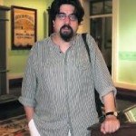 El profesor y novelista Luis García Jambrina (Foto: S.T.M.)