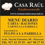 Casa Raul restaurante Plasencia norte de Extremadura planVE