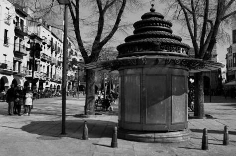 quiosco Plaza Mayor Plasencia
