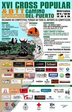 Cross Popular Camino del Puerto 2019 cartel