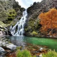 cascada Chorriteru Ovejuela Las Hurdes Extremadura