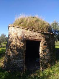 chozo de piedra Extremadura