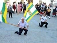 Echar la bandera en Santibáñez el Bajo