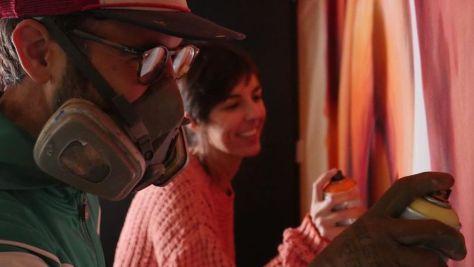 María Sánchez, el alma del Metrópoli, junto a Brea en acción. Foto de Luis G. Vicente de 28 Producciones