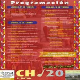 programa carnaval charanga el batan 45 edicion 2020