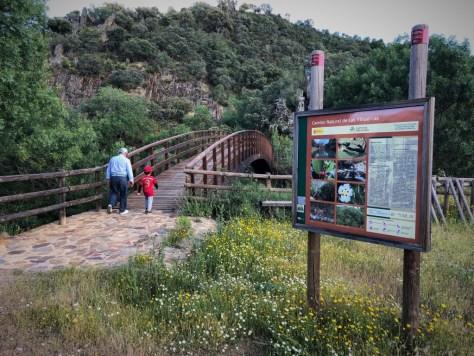 Valle del Guadarranque en el Geoparque Villuercas-Ibores-Jara
