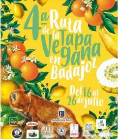 cartel-ruta-tapa-vegana-badajoz