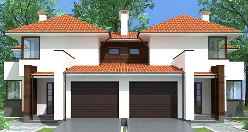 Два созвстройщика построили на земельном участке двухквартирный дом права каждого