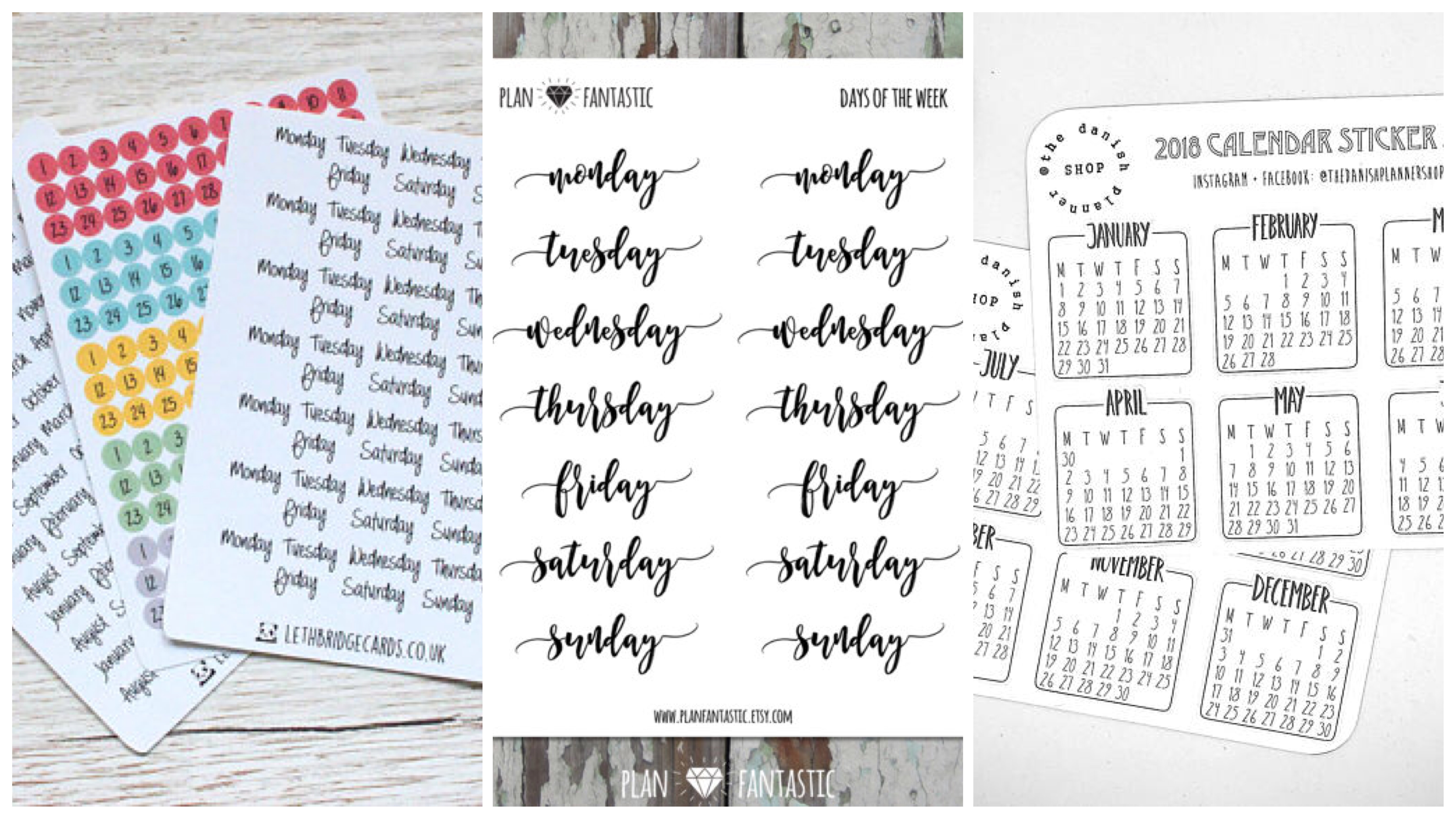 Bullet Journal Supplies 10 Products Under 10 Plan With Ady