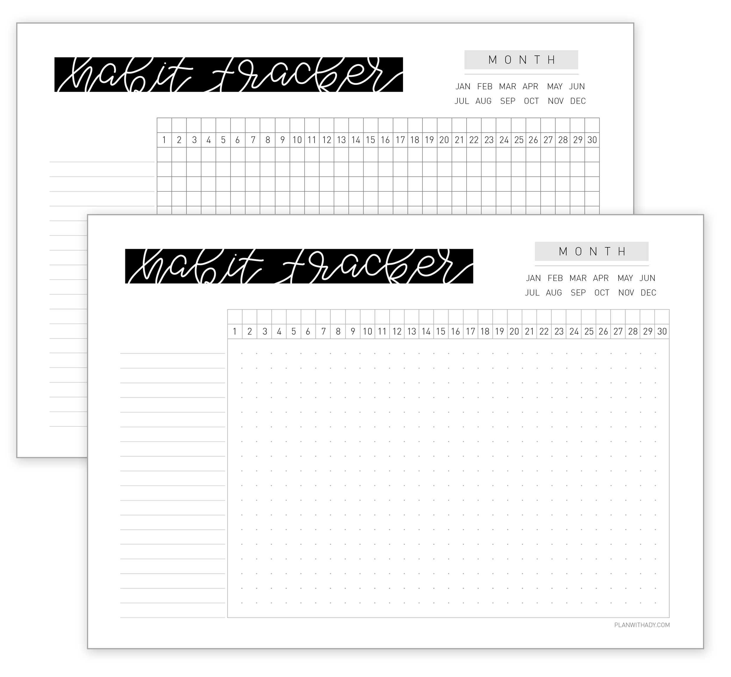 photograph relating to Free Printable Habit Tracker referred to as Behavior tracker : a best resource toward attain plans and preset up a