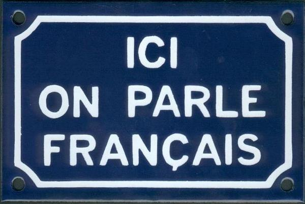 Image result for ici on parle francais