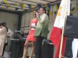 fil-belgian candidate for miss belgium 2014 catherine haduca being serenated in tagalog