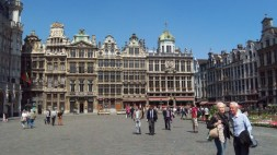 the grand place or grote markt is the central square of brussels.