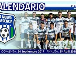 Calendario Oficial del A.D. Nuevo Plasencia Segunda División Extremeña