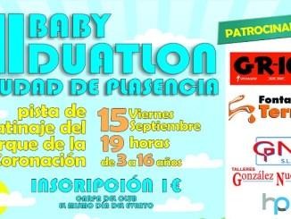 III BabyDuatlón en el Parque de la Coronación de Plasencia