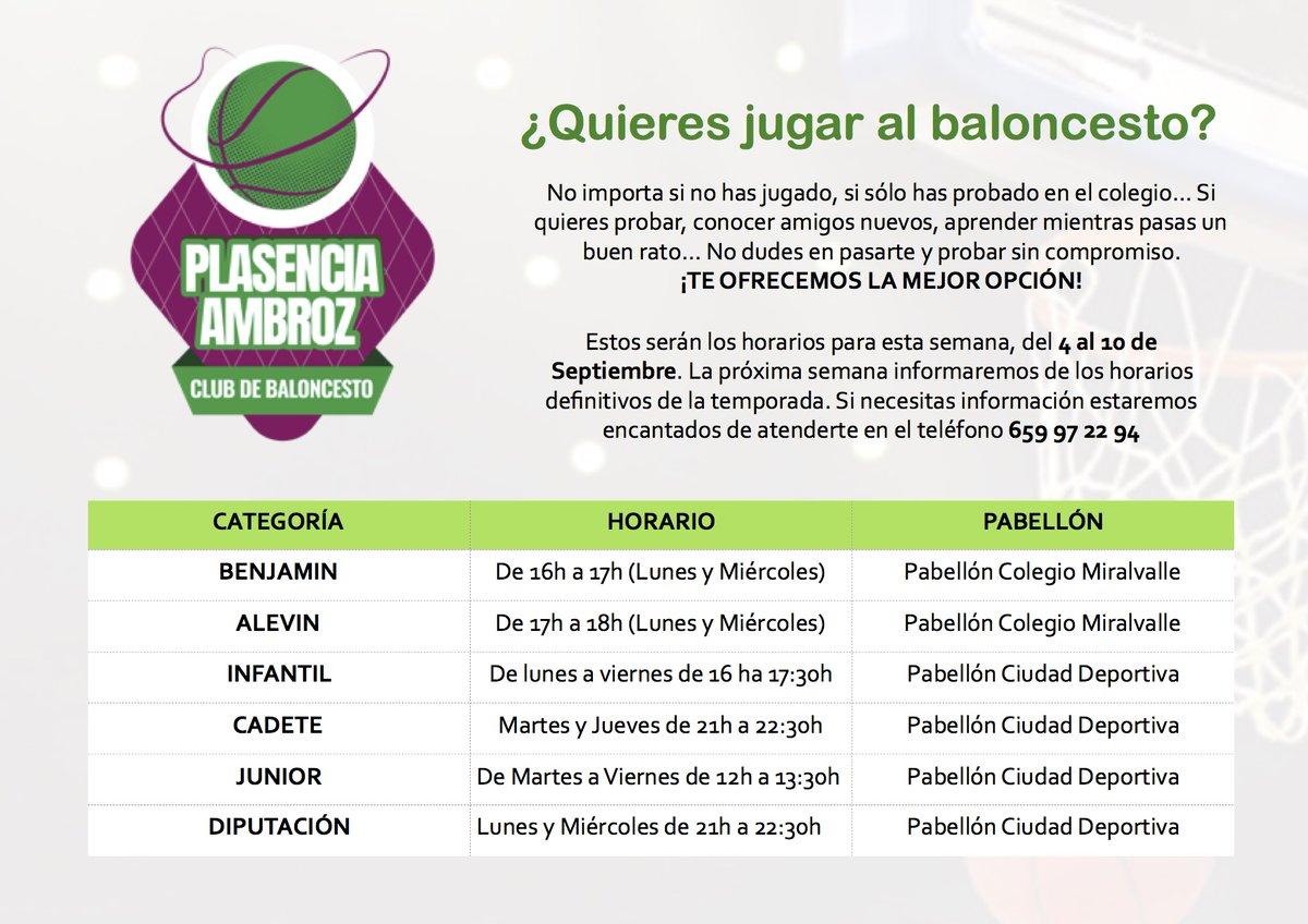 Jugar al Baloncesto - Extremadura Plasencia