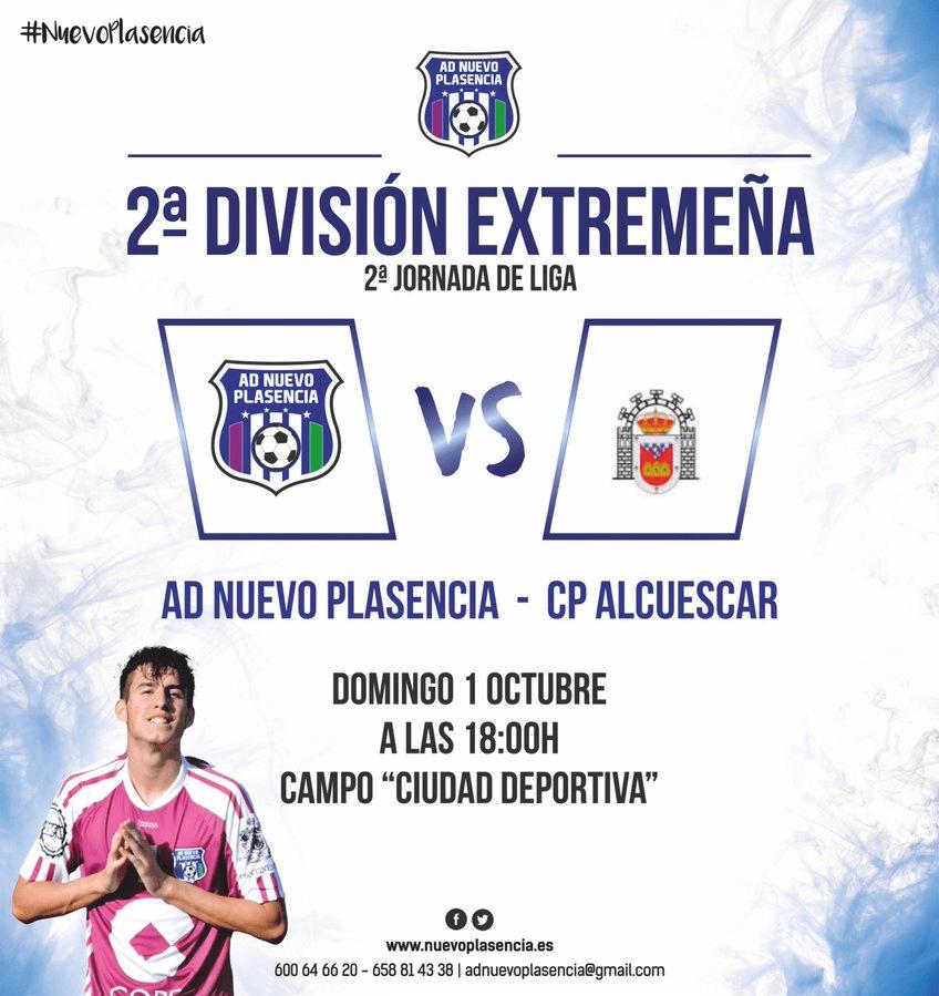 Segunda División Extremeña - AD Nuevo Plasencia vs CP Alcuescar