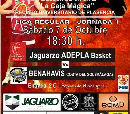Comienza la andadura histórica del Jaguarzo Adepla Basket