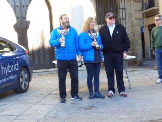 Txema Foronda y Pilar Rodas - Los vizcaínos Foronda y Rodas repiten victoria en el Eco Rallye Ciudad de Plasencia