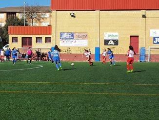 """El CP San Miguel Plasencia aguantó con diez frente al CD Santa Teresa """"B"""""""