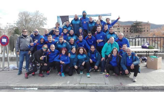 Casi 600 personas saborean los kilómetros de la VI Media Maratón