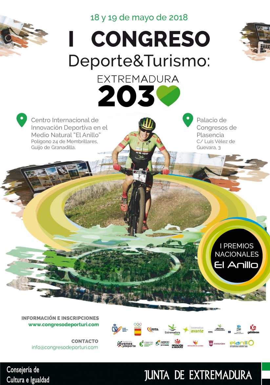 I Congreso Deporte y Turismo Extremadura 2030 en Plasencia
