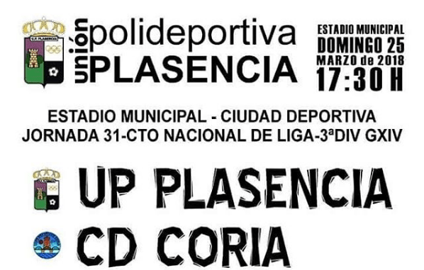 UP Plasencia-CD Coria: una 'final' de tres puntos