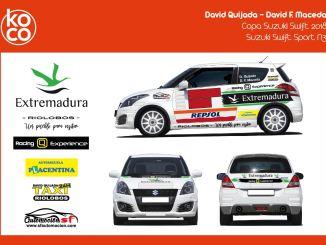 El Q Racing Extremadura presenta su imagen de cara a la Copa Suzuki Swift 2018
