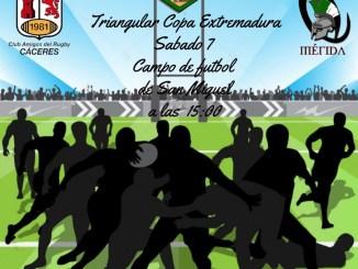 Triangular Copa Extremadura en San Miguel