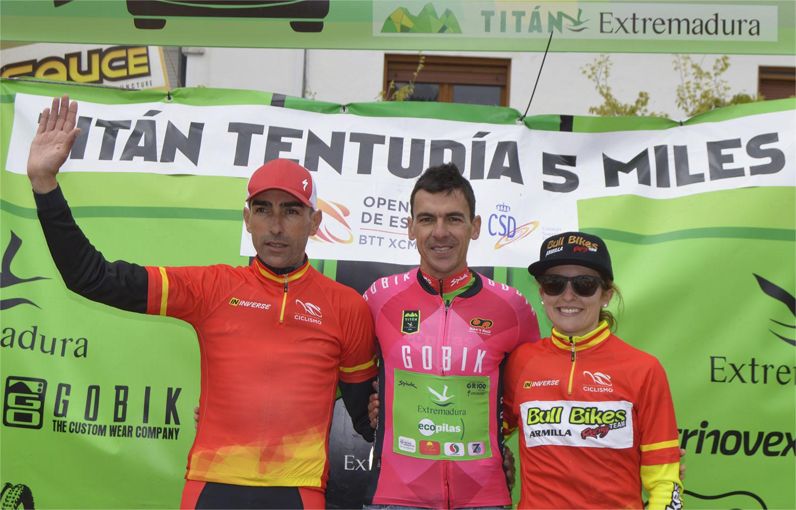 Pedro Romero gana la Titán Tentudía 5 Miles de Cabeza la Vaca