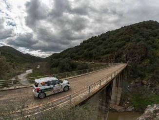 El Q Racing Extremadura consigue la quinta plaza en el Rallye Sierra Morena
