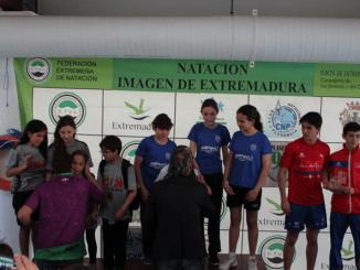 Meritorio quinto puesto para el Club Natación Plasencia