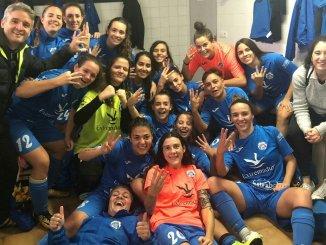 El CP San Miguel Plasencia consigue su primera victoria en el derbi ante el Extremadura (2-0)