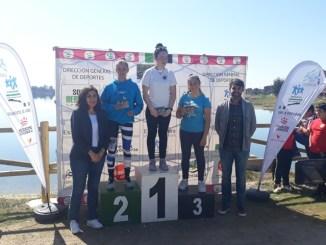 El Club Rio Jerte obtiene 6 medallas en el Campeonato de Extremadura de Invierno en Proserpina, Mérida