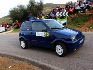 Dos coches del Q Racing Extremadura en el Rally Norte